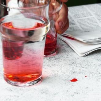 verre grenadine