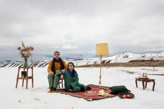 Mina et Hadi, comédiens, Iran