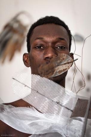 Portrait Oumar la peur bd