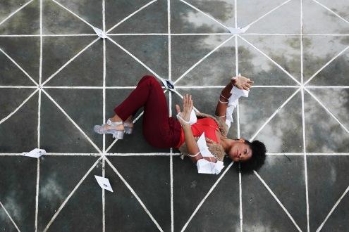 Julie Larisoa, danseuse, Madagascar