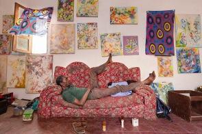 Mamadou Anne, peintre, Mauritanie