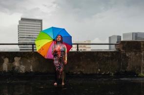 Carolina Pires, maquilleuse, Brésil