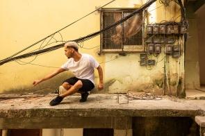 Ueng, danseur de Baile funk, Brésil, 2019.